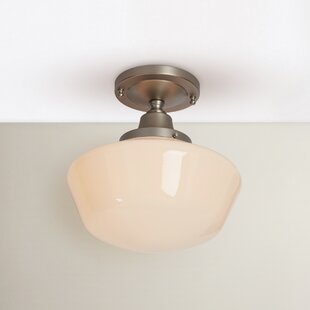 Fredericksen 1-Light Semi Flush Mount