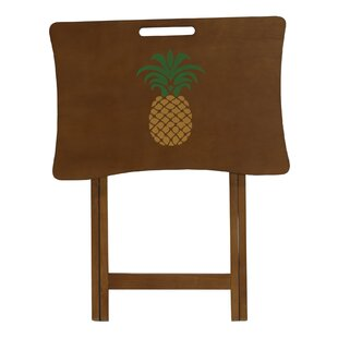 Pineapple Design Tray Table Elements