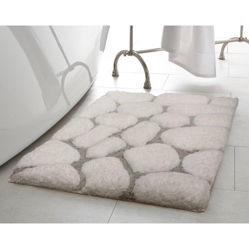 White Grey Black or Red Microfibre Feet Drying Shower Bathroom Bath Mat Bathmat