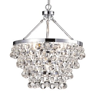 House of Hampton Giovanni 5-Light Crystal Chandelier