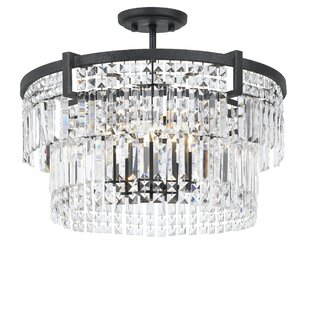 Hillcrest 5-Light Semi Flush Mount by Everly Quinn