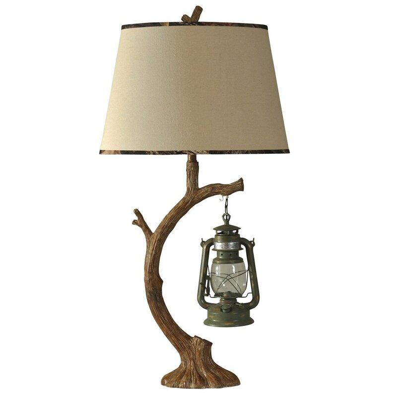 Lantern lamp wayfair tree branch 41 table lamp keyboard keysfo Images