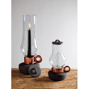 Bugia & Lanterna Porcelain and Glass Lantern