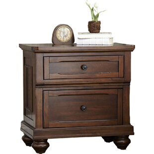 Finnegan 2 Drawer Nightstand by Birch Lane™ Heritage