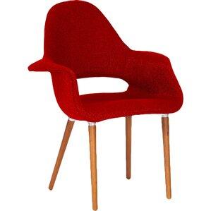 Calla Twill Mid-Century Style Armchair (Set ..