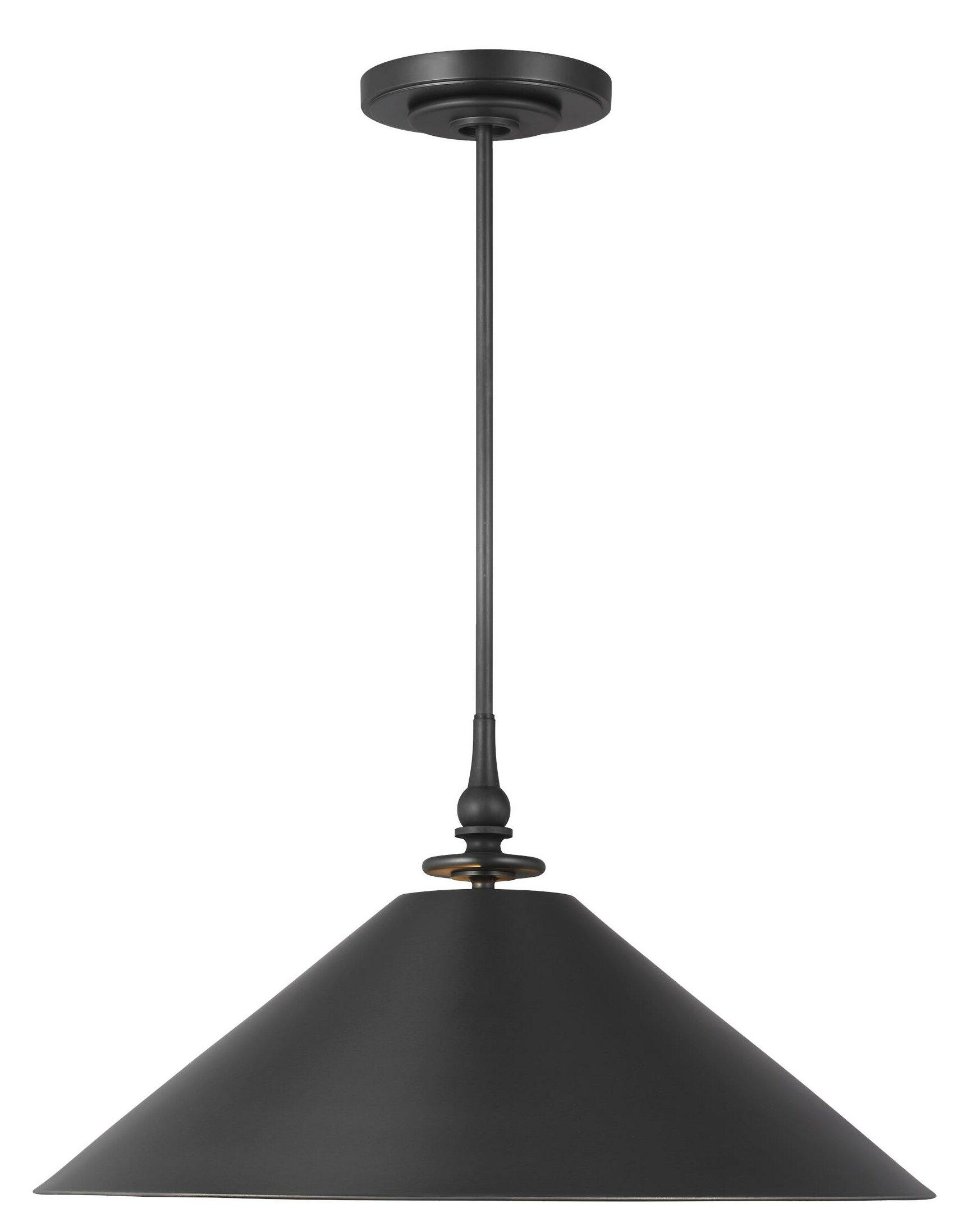 Light Single Cone Pendant