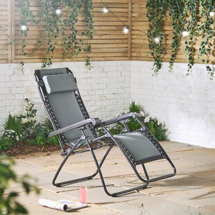 Dunadry Zero Gravity Reclining Sun Lounger By Sol 72 Outdoor