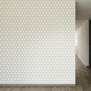 F. Scott Fitzgerald Removable 8' x 20 Geometric Wallpaper