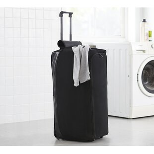 Symple Stuff Duffle Laundry Bag with Wheel