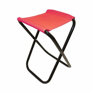 Freeport Park Kiera Outdoor Folding Camping Stool with Cushion