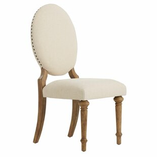 Drummer Oval Upholstered Dining Chair (Set Of 2)