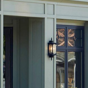 Darby Home Co Barson 2-Light Outdoor Flush Mount
