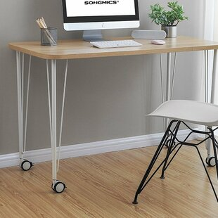 Looking for Laskowski Mobile Writing Desk with Thickened Tabletop By Wrought Studio