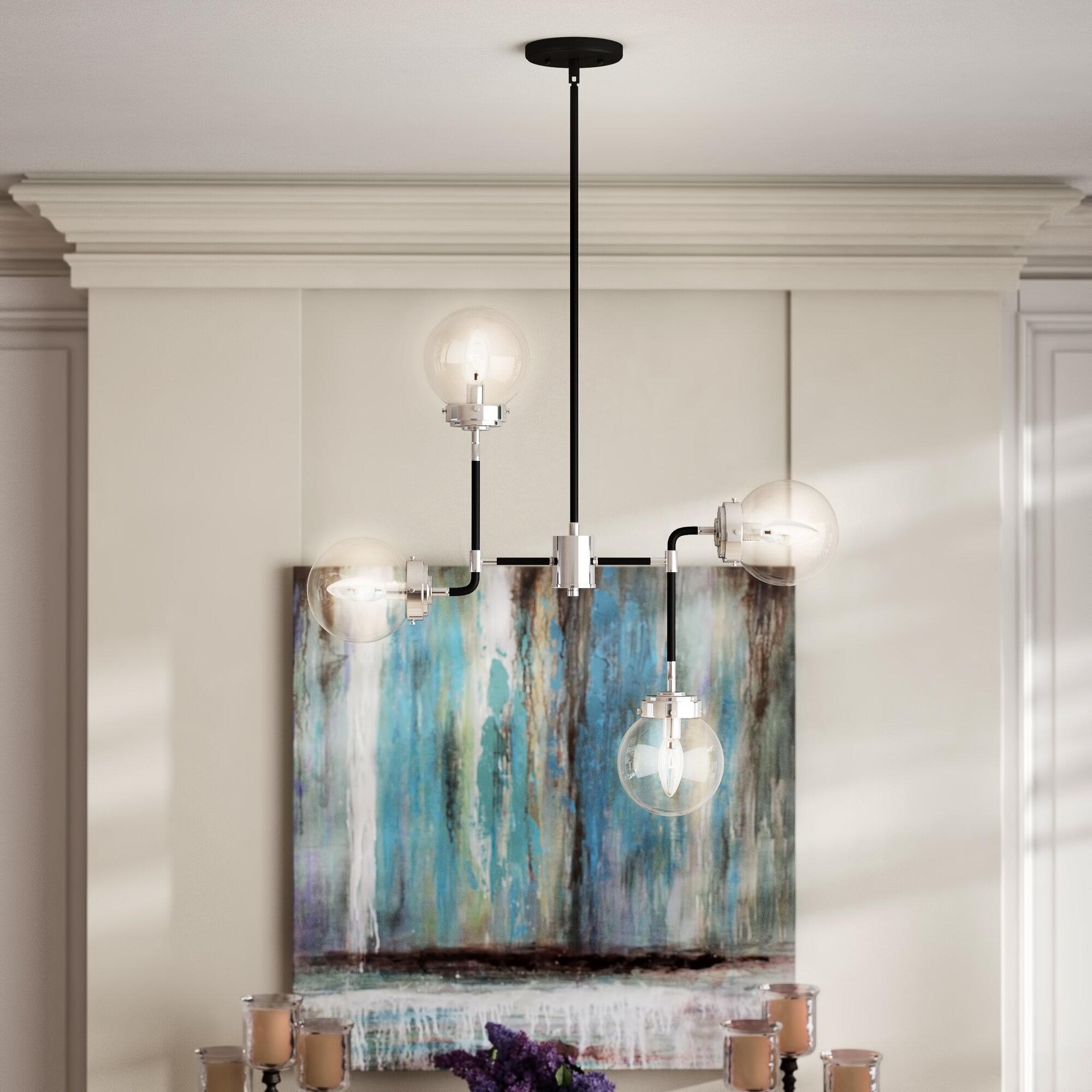 Mercury row avent 4 light sputnik chandelier wayfair ca