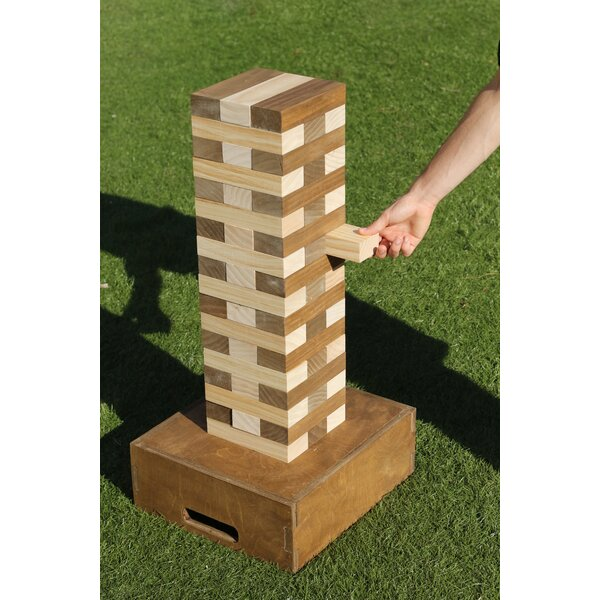 Tumble Tower Giant Stacking Games Set