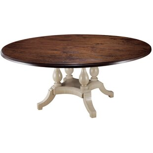 Four Pedestal Dining Table