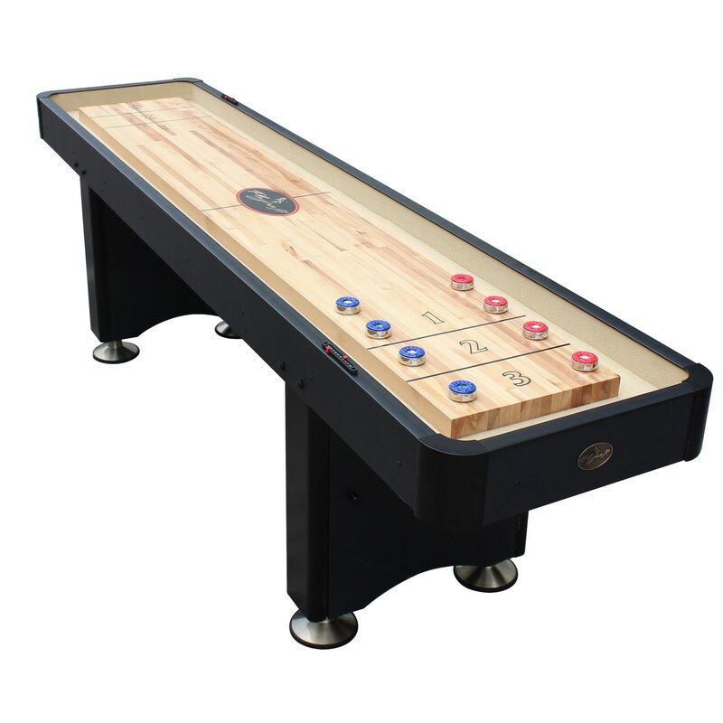 Playcraft Woodbridge Shuffleboard Table Wayfair - Playcraft georgetown shuffleboard table
