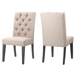 Gracie Oaks Wisniewski Upholstered Dining Chair (Set of 2)