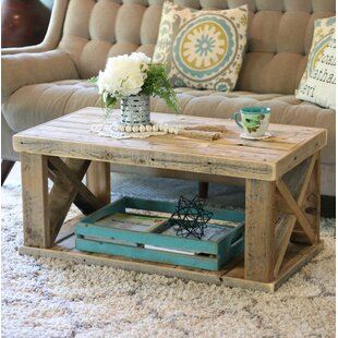 Grijalva Wooden Coffee Table by Loon Peak Today Sale Only