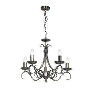 Pewtersilver chandeliers wayfair pewtersilver chandeliers aloadofball Image collections