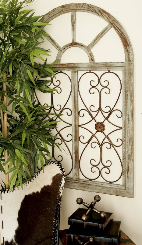 Metal Wall Accent Pieces Endearing Laurel Foundry Modern Farmhouse Wood And Metal Wall Decor Inspiration