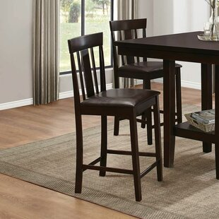 Everly Counter Height Dining Chair (Set of 2) Red Barrel Studio