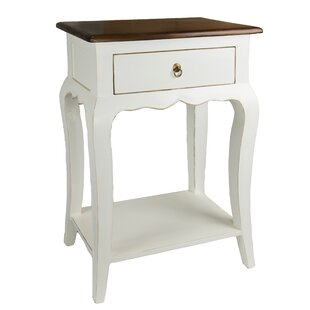 Vaness End Table by Antique Revival