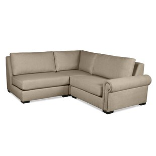 Willia Plush Deep Modular Sectional by Three Posts New