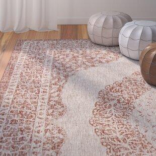 Myers Light Beige/Terracotta Indoor/Outdoor Area Rug
