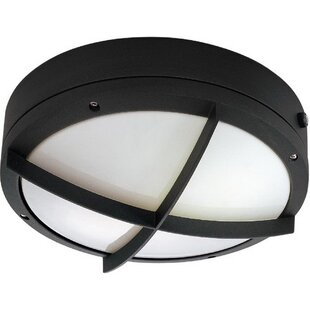 Jacquline 2-Light LED Outdoor Bulkhead Light