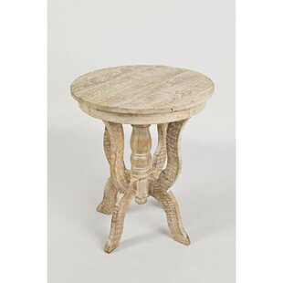 Avelar Round End Table by Bungalow Rose