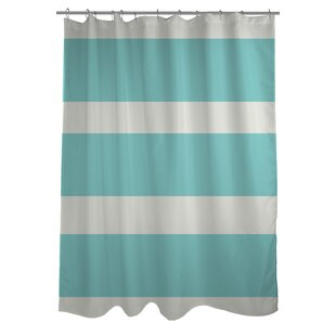 Helen Striped Shower Curtain by One Bella Casa