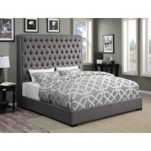 Where buy  Brannelly Upholstered Panel Bed by Darby Home Co Reviews (2019) & Buyer's Guide