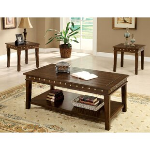 Canora Grey Mckay 3 Piece Coffee Table Set