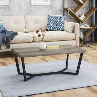 Union Rustic Burgin Modern Coffee Table