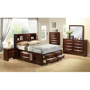 Alidge Platform 6 Piece Bedroom Set by Grovelane Teen Find