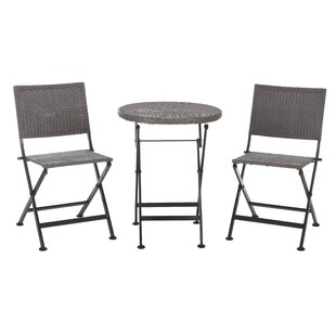 Acosta 3 Piece Bistro Set by PatioSense