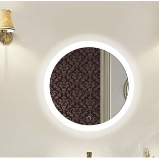 Orren Ellis Rieves LED Lighted Wall Mirror