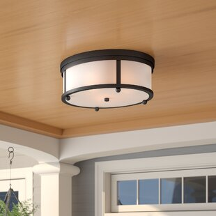 Barnaby 3-Light Outdoor Flush Mount by Birch Lane? Heritage