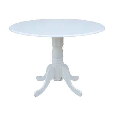 Marvelous Three Posts Boothby Drop Leaf Solid Wood Dining Table Color Gamerscity Chair Design For Home Gamerscityorg