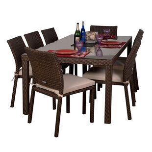 Monett 9 Piece Dining Set