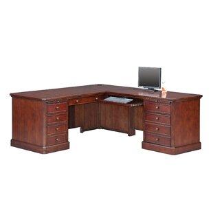 Darby Home Co Spielman L-Shape Executive Desk