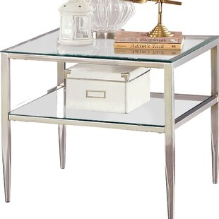 Rahil Open Shelf End Table