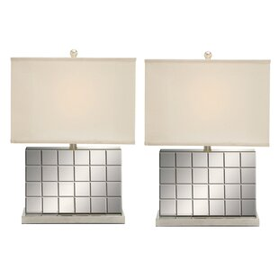 Urban Designs Mirror 23 Table Lamp (Set of 2)