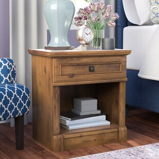Three Posts Orviston 1 Drawer Nightstand
