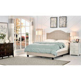 Find the perfect Skipworth Upholstered Panel Bed by Charlton Home Reviews (2019) & Buyer's Guide