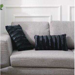 Tremendous Grubbs Faux Fur Lumbar Pillow Set Of 2 Short Links Chair Design For Home Short Linksinfo