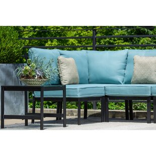 Highland Dunes Baer 6 Piece Modular Sectional Seating Group with Cushions