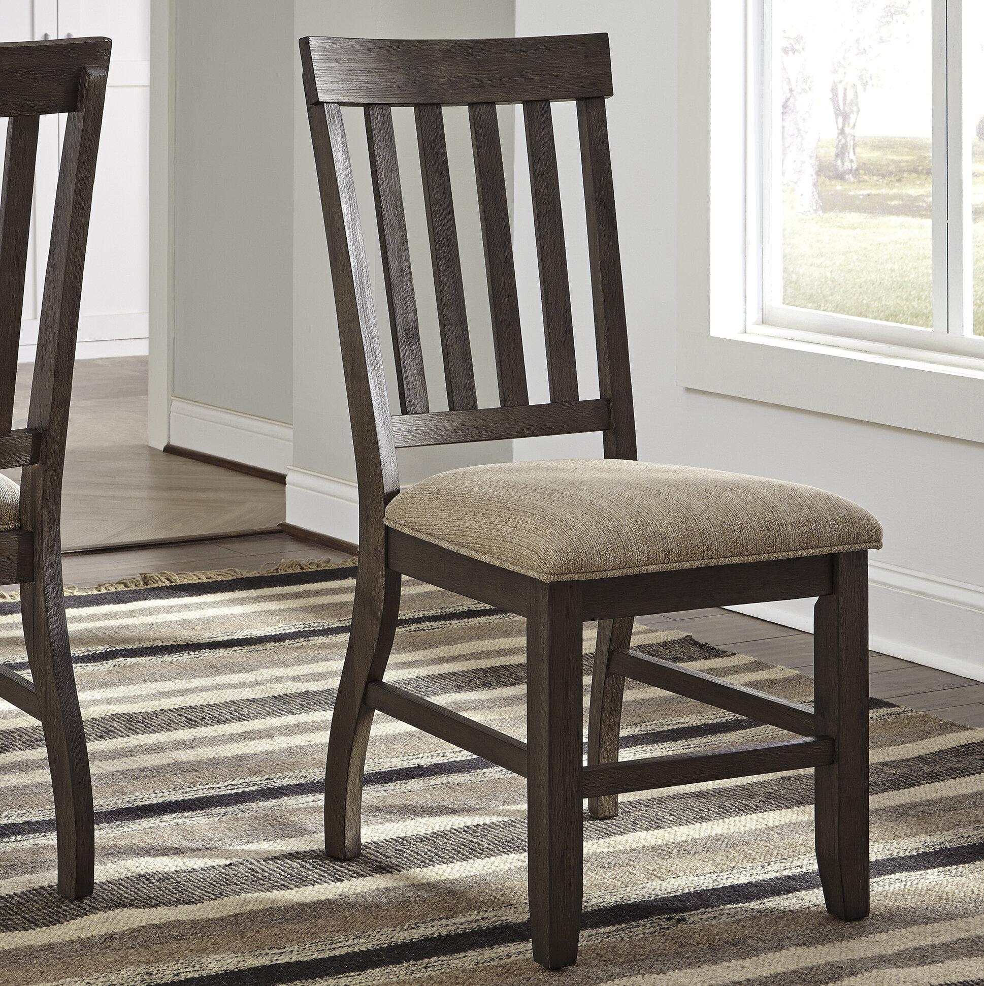 Loon Peak Ravenden Solid Wood Dining Chair Reviews Wayfair