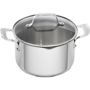 5 Qt. Stainless Steel Round Dutch Oven (Set of 2)